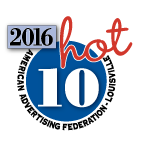 2016 Hot 10 Winner Logo