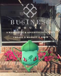 Business House Pokemon GO Marketing Agency
